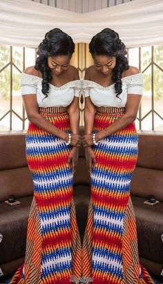 Latest African Dresses Ankara Gown and Pistis Ghana - Reny styles African Fashion Ankara, Ghanaian Fashion, African Inspired Fashion, African Print Fashion, Africa Fashion, Men's Fashion, Nigerian Fashion, Fashion Styles, Fashion Ideas