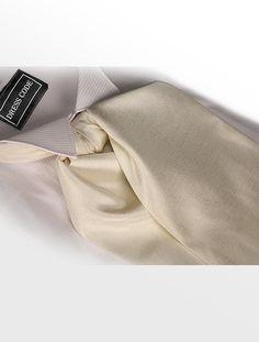Ivory Off White Hand Tie Self Tie Cravat Dupion Vintage Finish by FormalSaints on Etsy https://www.etsy.com/listing/241670814/ivory-off-white-hand-tie-self-tie-cravat