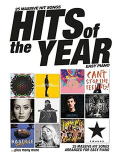 Wise Publications Hits Of The Year 2016: Easy Piano No description (Barcode EAN = 9781785584084). http://www.comparestoreprices.co.uk/december-2016-5/wise-publications-hits-of-the-year-2016-easy-piano.asp