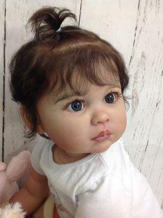 Linda Hill uploaded this image to 'Julieta'. See the album on Photobucket. Reborn Toddler Dolls, Newborn Baby Dolls, Child Doll, Reborn Dolls, Reborn Babies, Live Baby Dolls, Real Baby Dolls, Lifelike Dolls, Realistic Dolls