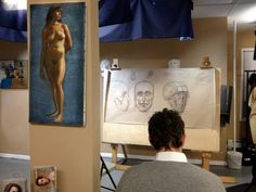 A student works on anatomy of the skull in Teaching Studio's founder Rob Zeller's Figure Drawing Atelier.  The spring semester is about to start and students are able to sign up for our spring semester which runs April 4 - June 26. Rob Zeller is once again teaching the figure atelier every Wednesday 11am-2pm 3-6pm and 6:30pm-9:30pm. The morning and afternoon are with the same model in the same pose; the evening session uses a different model taking a different pose. Students deciding to…