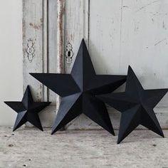 thegluegungirl: How to make: Shabby chic 3D cardboard stars