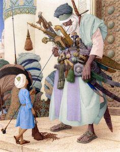 "© Olga Dugina & Andrej Dugin  ""The Adventures of Abdi"" private collection"