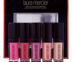 """Laura Mercier's Mini Lip Glacés (as in """"glacé cherries"""" which are back in voguebig time thanks toGreat British Bake Off) are not that easy to find at the moment. (Space.NK had a set of fou..."""