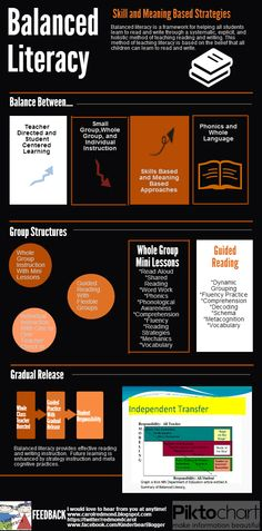 Lines of Literacy: Balanced Literacy: Skill and Meaning Based Strategies (Infographic)