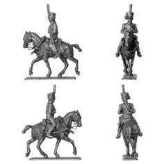 """Conductor de la cocina de campaña (Diorama """"La cocina de campaña del Emperador"""" - Manufactura Histórica de Soldados de Plomo) Subido desde www.elgrancapitan.org"""