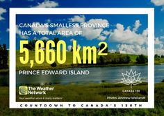 Canada's smallest province,  P.E.I. is known as the 'Garden of the Gulf' and the 'Cradle of Confederation' Great 🇨🇦 fact 117/150 #Canada150