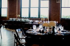 Kristin La Voieis awesome. She really, really is. She's sweet, funny and talented... and sends us some of the most amazing weddings you'll ever lay your eyes upon. Like this stunner of day held at theBridgeport Art Centerin Chicago, a classic meets contemporary