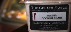 Toasted Coconut Gelato | The Gelato Fiasco