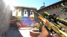 Vídeo Game Counter-Strike: Global Offensive  AWP Azimov Guns Dragon Lore (Counter-Strike) Papel de Parede