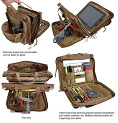 It DOES have a place for my off-duty carry weapon. Check out the upper left hand corner photo. Looks like it would conceal an off duty gun nicely. Tactical Equipment, Tactical Bag, Tactical Survival, Survival Gear, Tactical Medic, Tactical Pouches, Chest Rig, Tac Gear, Tactical Clothing