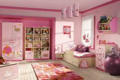 nice Desain Interior Kamar Tidur Anak Keren 2015 Kamar tidur anak perempuan pink