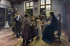 GENITORI Raccontate ai figli la storia di Dio.