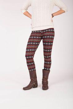 Primrose - Winter warme legging met fleece Leg Warmers, Winter, Pants, Fashion, Leg Warmers Outfit, Winter Time, Trouser Pants, Moda, Fashion Styles