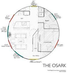 "Rainier yurt The Osark 30"" Eagle yurt"