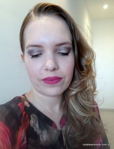Neutral eyes and pink lips