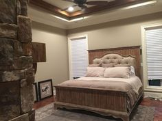 You might even become mismatched items provided that they are int he same style and it is a whole lot easier than simply painting your… Rustic Bedroom Furniture, Bedroom Decor, Bedroom Rustic, Rustic Home Design, Rustic Decor, Farmhouse Style Bedrooms, Rustic Farmhouse, Farmhouse Ideas, Decor Styles