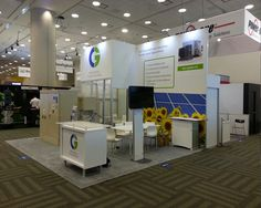 Exhibition Stand Design for CG during its participation in Intersolar Expo at USA. EDS Middle East provides end to end solutions for all your exhibition, events, conferences and brand activation requirements. Contact us http://www.expodisplayservice.ae/contactus.asp