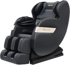 Real Relax 2020 Massage Chair, Full Body Zero Gravity Shiatsu Recliner with Bluetooth and Led Light, Black massage chair salon chairs spa chairs Good Massage, Neck Massage, Massage Body, Shiatsu Massage Chair, Shoulder Massage, Body Therapy, Massage Roller, Massage Techniques, Cool Chairs