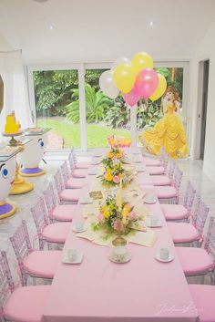 Belle / Beauty and the Beast Birthday Party Ideas | Photo 1 of 13