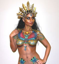 Body Painting by clocke82 on Pinterest | Body Paint, Body painting ...