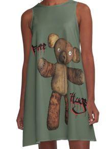 Free Hugs A-Line Dress