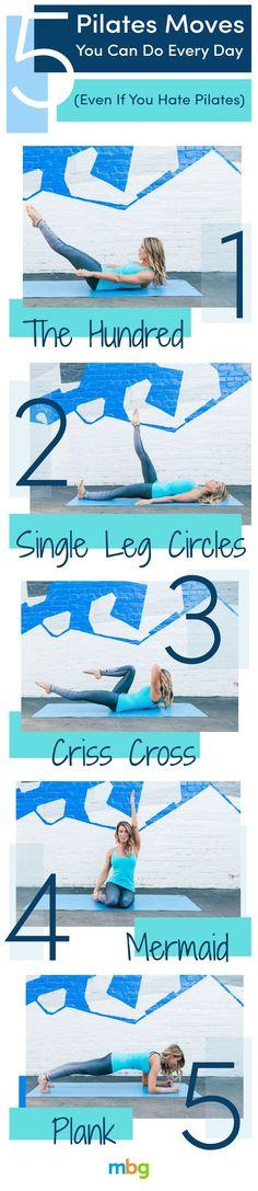 51 Best Pilates Routine Images Encha 238 Nements D Exercices