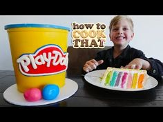 PLAY DOH CAKE VIDEO How To Cook That Ann Reardon YouTube - YouTube
