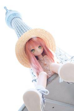 Anime Dolls, Blythe Dolls, Pretty Dolls, Beautiful Dolls, Anime Chibi, Kawaii Anime, Doll Japan, Kawaii Doll, Anime Figurines