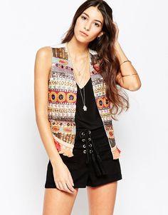Raga+Caravan+Embroidered+Vest