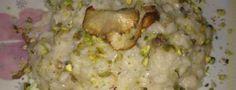 Risotto ai topinambur con pistacchi di Bronte