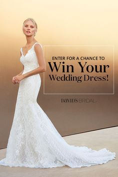 Sign up now and you'll get perks like free shipping, sale sneak peaks, and the chance to win your dream gown or up to five bridesmaid dresses.