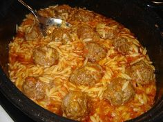YouTube Beef Recepies, Recipies, Cookbook Recipes, Cooking Recipes, Greek Recipes, Tasty Dishes, Paella, Lamb, Food And Drink