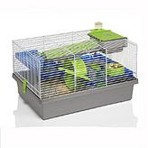 Small Animal Pico Hamster or Mouse  Cage Silver