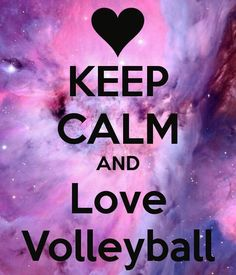 Keep calm and love volleyball Volleyball Workouts, Volleyball Outfits, Volleyball Drills, Volleyball Players, Volleyball Bedroom, Volleyball Locker, Volleyball Images, Volleyball Quotes, Volleyball Motivation