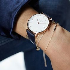 Blue is the new black  #boweryblue #rosegold #rosefield #rosefieldwatches #amsterdam #newyork #nyc
