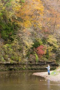 In hilly northwest Illinois, Apple River Canyon State Park offers beautiful scenery for outdoor recreation, including fishing, hiking and camping.