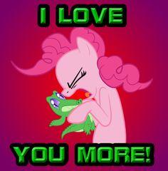 I LOVE YOU MORE! by TeasIe.deviantart.com on @deviantART