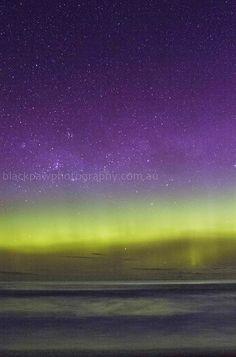 Aurora Australis - Goats Beach, Tasmania, Australia