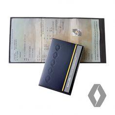 Etui carte grise Renault personnalisé Conservation Des Documents, Office Supplies, Fan, Pouch Bag, Accessories, Hand Fan, Fans