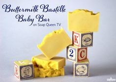 Buttermilk Bastille Baby Bar on Soap Queen TV