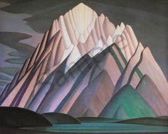 Lawren Harris Mountain Forms