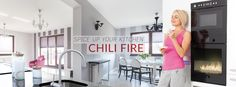 We would like to inform you that Planika Fires is launching a new product dedicated to open- space dining areas - Chili Fire. With Chili Fire, we are excited to be entering into a completely new market, since it is designed for kitchens, dining rooms and restaurants. www..planikafires.com
