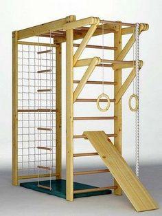 Module espalier, kit gymnastique enfants en bois