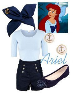 Cute Disney Outfit Ideas Collection ariel kiss the girl disneywithalicia liked on Cute Disney Outfit Ideas. Here is Cute Disney Outfit Ideas Collection for you. Cute Disney Outfits, Disney Princess Outfits, Disney Themed Outfits, Disneyland Outfits, Disney Dresses, Cute Outfits, Disney Bound Outfits Casual, Disney Clothes, Princess Inspired Outfits