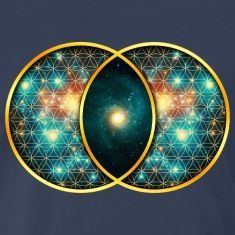 Vesica piscis is a familiar, yet somewhat obscure, shape that appears throughout our cultural history in mathematics, sacred symbolism and form. Sacred Geometry Art, Sacred Art, Geometry Tattoo, Vegvisir, Sacred Symbols, Sacred Feminine, Visionary Art, Flower Of Life, Psychedelic Art