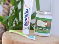 Tanden poetsen met kokosolie - LiveLifeGorgeous Voor bijv. gevoelig tandvlees, met positief effect; zie de site voor meer info