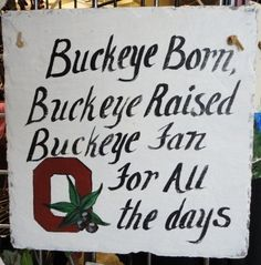 Buckeye born.....