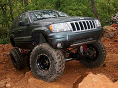 2004 Jeep Wj Front View