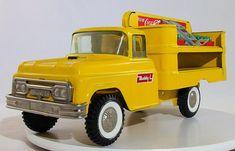 Vintage 1960's Buddy L Coca Cola Route Truck - Superb Original
